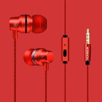 Wholesale mp3 roses - G80 Waterproof Earphone Twins Earphone Top Grade Headphone Metal Wired With Mic Volume Control 3.5mm For Compute Cell Phone MP3 MP4