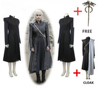 Wholesale Indian Outfits - Game of Thrones Season 7 Daenerys Targaryen Outfit Skirt
