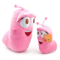 Wholesale Fun Video Games - 2 size Fun Insect Slug Creative cute kid baby toys Larva Plush Toys Stuffed Doll For Children Christmas Gift Juguetes