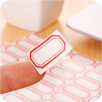 ingrosso etichetta personalizzata-Etichetta autoadesiva autoadesiva di piccola dimensione di etichetta di prezzi del contrassegno di codice a barre di 21,5 * 12m di Adhensive di abitudine per la stampante