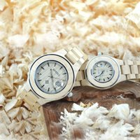 Wholesale New Pair Couple Watch - 2017 Luxury Brand BEWELL Lover Watch Pair Men Women Couples Lovers Wristwatches with Calendar Date Display