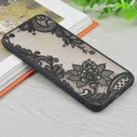 Wholesale Iphone Cover Palace Flower - New Sexy Lace Floral Henna Mandala Palace Flowers Phone Cases For iphone 6 Cover For iphone 6 6s Plus 5 5s 7Plus