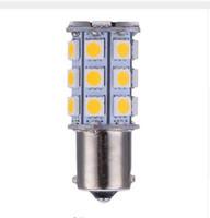 mavi sinyal lambası ampulleri toptan satış-100X1156 1157 13SMD 18SMD 27SMD 5050 Araba RV için LED Işık Ampüller İç Camper Kuyruk Işık Dönüş Sinyali Işık Yedekleme