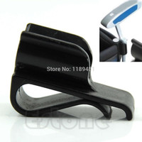 Wholesale Golf Balls Markers - Wholesale- Golf Bag Clip On Putter Putting Organizer Club Durable Ball Marker Clamp Holder