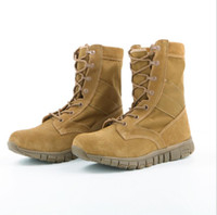 Wholesale Desert Special Combat Boots - Winter autumn Men Quality Brand Military Leather Boots Special Force Tactical Desert Combat Boats Outdoor Shoes Snow Boots