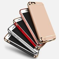 Wholesale External Phone Case Charger - 2017 Newest External Battery Phone Case for iPhone 7 7 Plus Backup Power Bank Backup Charger Case for iPhone 7 7 Plus