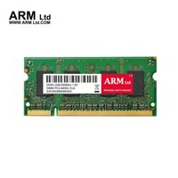 Barato Ddr2 667mhz 2gb Laptop-ARM Ltd 2Gb 667Mhz / 800Mhz Memória PC2-6400 SDRAM 200-Pin SO-DIMM DDR2 PC Portátil RAM Componentes do computador super-velocidade RAMs Garantia vitalícia