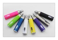 Wholesale Gs Ce5 - New GS ego 2200mAh Battery e cigarette ego II electronic cigarette Ego2 510 Thread Battery for ce4 ce5 mt3 Multi Colors VAPE