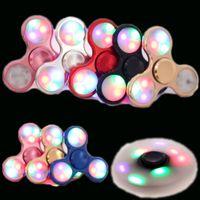 luminate lighting - Led Shinning Metal Hand Spinner Aluminum Alloy Fidget spinner fingertips spiral lighting luminate  sc 1 st  DHgate.com & Wholesale Luminate Lighting - Buy Cheap Luminate Lighting from ... azcodes.com