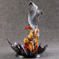 Wholesale Doll Scale - One Punch Man Saitama Action Figure scale painted figure Saitama Doll PVC figure