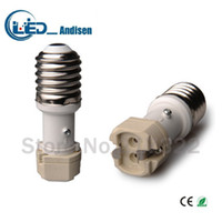 Wholesale G12 Adapter - E40 TO G12 adapter Conversion socket High quality material fireproof material E12 socket adapter Lamp holder