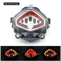 Para HONDA CB400X CB500X CBR400R CBR500R CB500F 2013-2015 14 Motorcycle Integrated LED Tail Light Indicador de giro Blinker Lamp Clear
