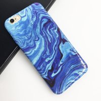 Wholesale Black Green Granite - New Arrival for Samsung S8 Plus Luxury Granite Stone Marble Texture Pattern Case for Samsung S6 Soft TPU Phone Cases Cover