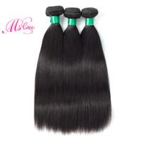 Wholesale Manufacturer Bundles - Peruvian Virgin Hair Straight 3 Bundles Unprocessed Peruvian Hair Manufacturers Best And Soft Hair Extensions Bundles