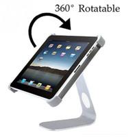 Wholesale Ipad Mini Aluminium - Wholesale- M Shape 360 Angle Rotatable Holder Desktop Holder Stand for iPad 2 3 4 for ipad mini 1 2 3 for ipad air