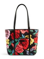 Wholesale Red Interior Trim - Small Trimmed Tote shoulder bag