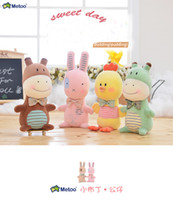 Wholesale Dresses For Big Figure - Cute Dolls Baby Metoo Plush Toys Stuffed animal baby Dolls for Girls Baby Kids Toy from shenzhen
