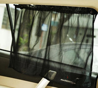 Autoadesivo registrabile dell'automobile Sun Shade finestra della tenda della cortina Interruttore UV parasole Accessori per l'automobile
