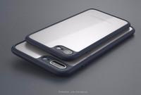 iphone transparente ultrafino venda por atacado-Caso ultrafino macio para iphone x capa quadro de proteção transparente anti prova case para iphone 8 6 6 s 7 plus samsung s8 plus