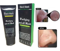Wholesale Best Deep Cleansing Facial - 2017 Best price SHILLS Deep Cleansing Black MASK 50ML Blackhead Facial Mask dhl free shipping factory price