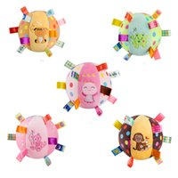 Wholesale Infant Toy Mobile - Wholesale- Baby plush Ball toys infant toddler musical Rattle bell Toy crib stroller bed brinquedo juguetes bebes jouet educational Mobile