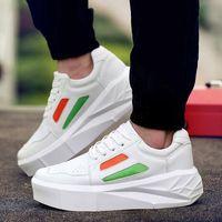 Wholesale Cheap Men Platform Shoes - High Heels Basket Cheap Tenis Casual Platform Men Shoes White Male Krasovki Shoe Designer High Quality Gumshoe M88#
