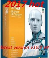 Activer en ligne 2016 Produits chauds ESET NOD32 Smart Security v10.0v9.0v version 8.0 180day 3pc 3user clé