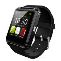 Wholesale Cheap Cpus - Smart watch u80 bluetooth cheap android mtk CPU fancy silicone fashion bluetooth watch wrist smartband wholesale iPhone IOS Android fu