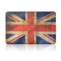 """Wholesale Plastic Flag Covers - Plastic Hard Shell Cover Case UK Flag For Apple Macbook Air Pro Retina 11.6"""" 13.3"""" 15.4"""" A1370 A1465 A1369 A1466 A1278 1286 A1398 A1425"""