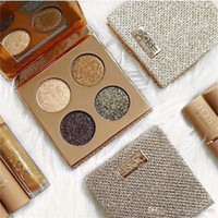 Wholesale Glitter Pallette - Natural Pallette New Arrival Makeup Eye Shadow 4 Colors Professional Eyeshadow Palette 2017 THE NEWEST DOSE OF COLOR 4 COLORS EYE SHADOW