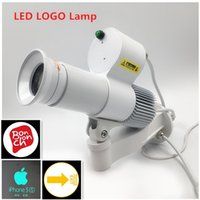 Wholesale Images Track - Latest 10W LED Rotating Logo Light Gobo Projector Led Custom Image Logo Track light 110V 230V