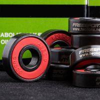 rollenlager großhandel-FREESPORT 608RS Gute Roller Skates Keramikkugel Inline Skate Bearings Drift Plate Großhandel