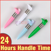 Wholesale Electronic Acupuncture Pen - Wholesale Health Electronic Pulse Analgesia Pen Pain Relief Point Massager Muscle Relaxation Meridian Energy Heal Device