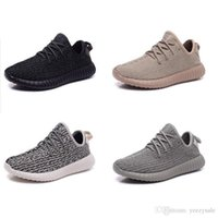 Wholesale Cheap Women Oxfords - With Box Kanye West 350 Boost Kanye West Pirate Black Moonrock Oxford Tan Turtle Dove Cheap Discount Basketball Shoes Running Shoes Sneaker