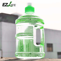 Wholesale Stocking Cap Wholesale - Wholesale- 0.5L Professional Free Sport Gym Training Party Drink Water Bottle Cap Kettle With Handle For Outdoor Camping Drinking Tools