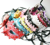 Wholesale sexy night party bar - Halloween Mask Sexy Masquerade Masks Dance Party Bar Princess Venice Mask High grade Night Club Mask Supplies