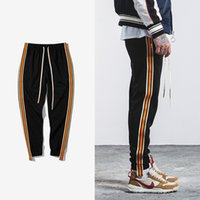 Wholesale clothes snaps for sale - Group buy SNAP STRAP New Justin Bieber FOG style Autumn New Harem jogger Pants Men Casual Sweatpants Elastic Waist Slim Fit Plus Size Brand Clothing