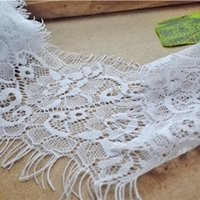 Wholesale cm Eyelash Nylon Lace JML yds Eyelet Hollow out Net lace for underwear wedding dress nightgown decoration