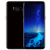 Wholesale Android Touch Video - ERQIYU goophone S8 android 7.0 cell phone unlocked MTK6592 Octa core 4G RAM 64G ROM shown 4G LTE 2560x1440 GPS 3G smartphone