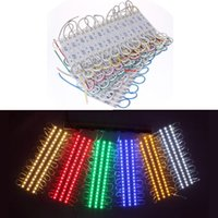 Wholesale Module Leds Rgb - 0.72W 3 Leds SMD 5050 Led Modules RGB Led Pixel Modules Waterproof 12V Backlights For Channer Letter WW R G B Y