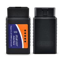 obd wifi venda por atacado-ELM327 Wi-fi / Bluetooth V1.5 OBD II Wi-Fi ELM 327 Ferramenta de Diagnóstico Do Carro OBD Scanner Interface de Scanner obd2 Atacado 100 pçs / lote DHL Livre