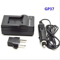 Wholesale Gopro Hero Battery Charger - For GoPro Camera Charger For Gopro 3 3+ Battery With Car Charger For Go pro Hero 3+ 3 Sport Action Camera Accessories GP37