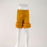 Wholesale Cheap Boutique Clothing - Cheap china summer boutique girls clothing shorts girls clothing 95% cotton double ruffle shorts wholesale