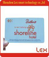 Wholesale Ic Card Locks - Wholesale- 125khz atmel 5577 ic chip card for hotel door lock