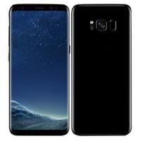 Wholesale Hdc Phone Dual Sim - 2017 HDC Goophone S8 S8 Plus Unlocked Smartphone Android 7.0 MTK652 Octa Core 4GB RAM 64GB ROM Fingerprint 4G LTE 13MP Metal Cell phones