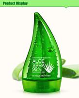 Wholesale Skin Whitening Cream Korea - Korea Hotsale Natural Aloe Vera Gel Acne Treatment Moisturizing Skin Whitening Scar Removal Aloe Essence Facial Cream 160ml