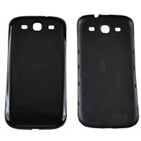 """Wholesale Galaxy S3 Replacement Back Cases - New Back Cover Case For SAMSUNG Galaxy S3 I9300 4.7"""" Black White Replacement Battery Cover By Free Shipping3"""