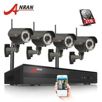 Wholesale surveillance system plug play for sale - Group buy Plug And Play Wireless Security System CH NVR Kit TB HDD Optional P HD WIFI IR Zoom mm mm Lens Outdoor Surveillance Camera