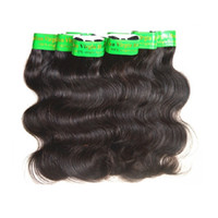 """Wholesale India Body Wave Hair - Wholesale 7A India Virgin Hair Product Indian Remy Hair Body Wave 40Packs 2Kg Lot Unprocessed Human Hair Weaving Color1B 8""""~26"""" Best Quality"""