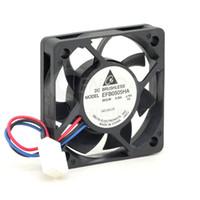 ingrosso server dc-Vendita all'ingrosso DELTA EFB0505HA 5010 50mm 5cm DC 3.3V 0.25A speed server inverter assiale ventola di raffreddamento